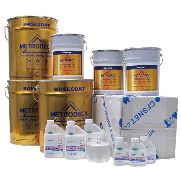 rp22 metrodeck roofing pack - fibreglass roofing supplies