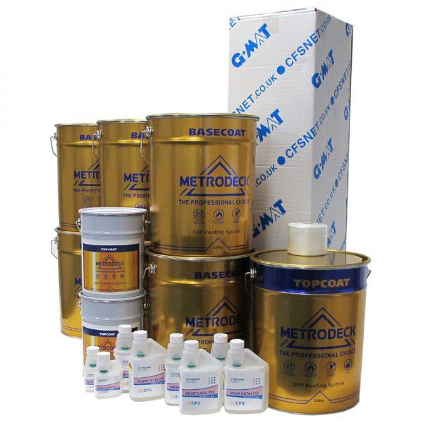 rp23 metrodeck - fibreglass roofing supplies