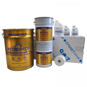 rp31 metrodeck roofing pack - fibreglass roofing supplies