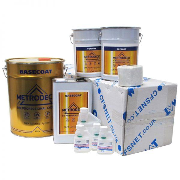 rp41 metrodeck roofing pack - fibreglass roofing supplies