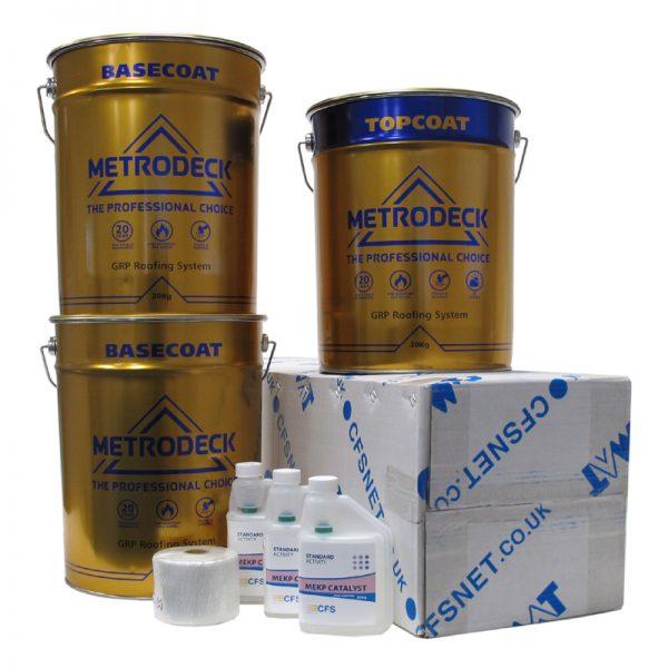 rp42 metrodeck roofing pack - fibreglass roofing supplies