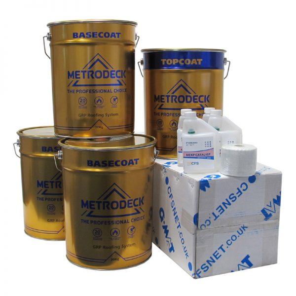 rp43 metrodeck roofing pack - fibreglass roofing supplies
