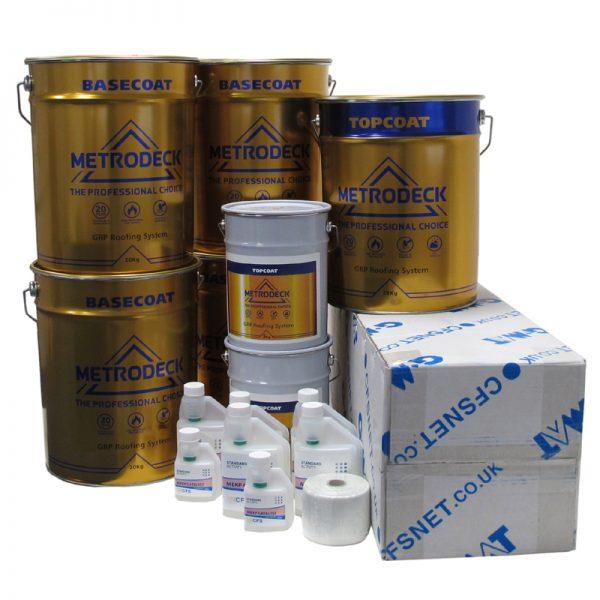 rp44 metrodeck roofing pack - fibreglass roofing supplies