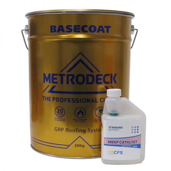 metrodeck basecoat- fibreglass roofing supplies