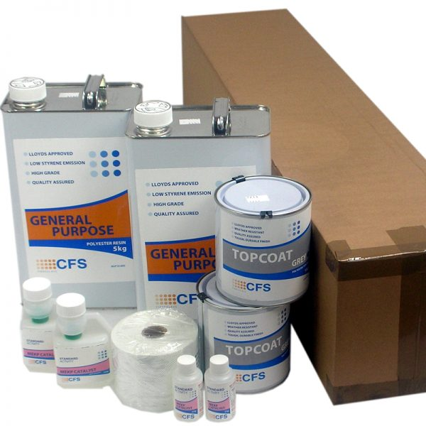rp1 material pack - fibreglass roofing supplies