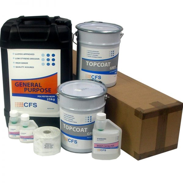 rp3 material pack - fibreglass roofing supplies