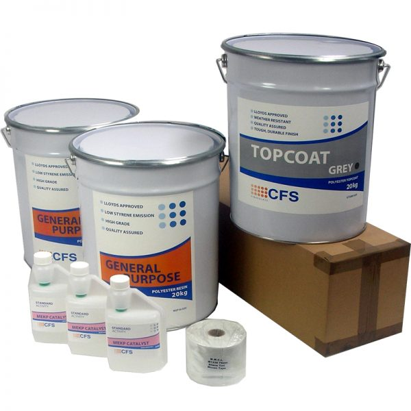 rp4 material pack - fibreglass roofing supplies