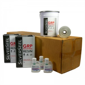 rp50 silverseel material pack - fibreglass roofing supplies