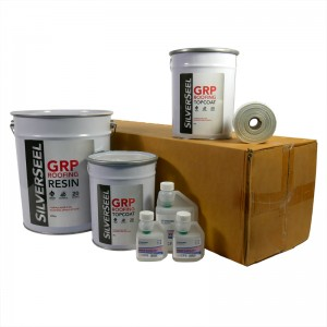 rp51 silverseel material pack - fibreglass roofing supplies