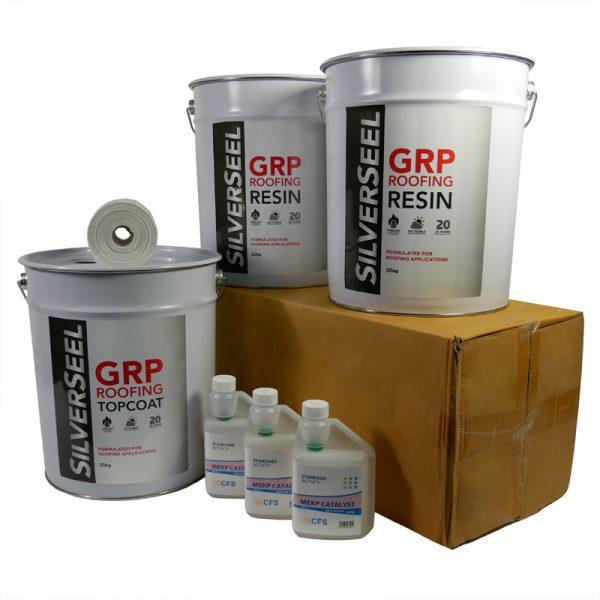 rp52 silverseel material pack - fibreglass roofing supplies