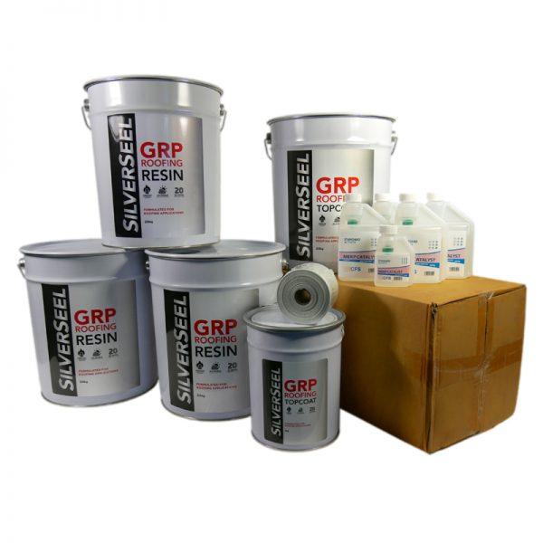rp53 silverseel material pack - fibreglass roofing supplies