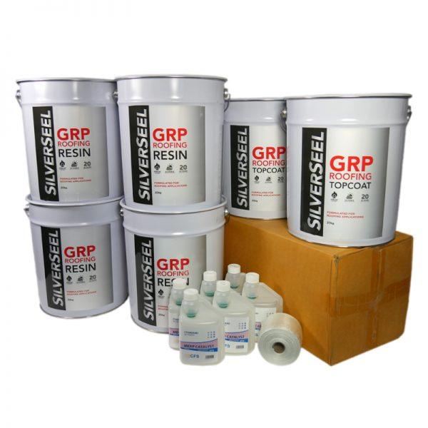 silverseel material pack - fiblreglass roofing supplies