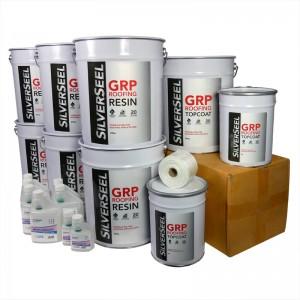 rp73 silverseel material pack - fibreglass roofing supplies