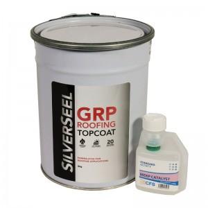 Silverseel topcoat - fibreglass roofing supplies